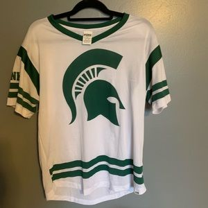Michigan state jersey top